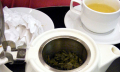 Zelený čaj nahubnutí