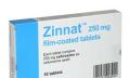 Antibiotika Zinnat
