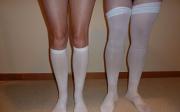 Co naoteklé nohy