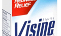 Oční kapky Visine při léčbě červených očí